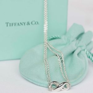 Authentic Tiffany & Co. Figure 8 Infinity Necklace
